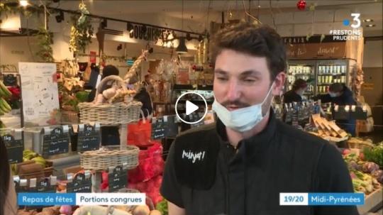 Minjat! Au journal de France 3