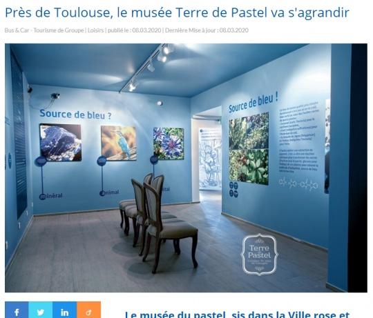 Terre de Pastel dans le Magazine Tour Hebdo